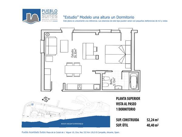 Pueblo Acantilado | Studios